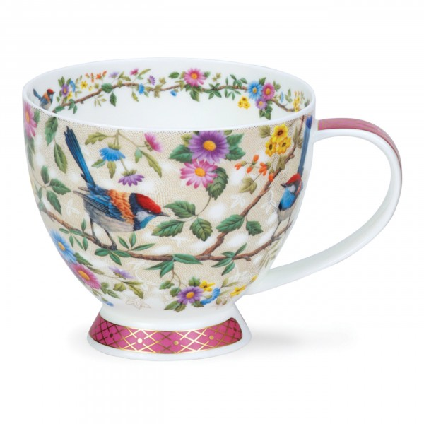 Dunoon Fine Bone China - Becher Skye Satori Pink