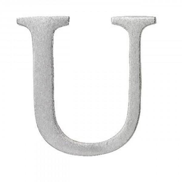 Aluminium Buchstabe U