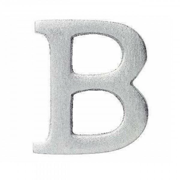 Aluminium Buchstabe B