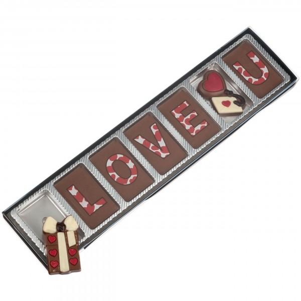 """Schokoladen - Geschenkverpackung """"Love"""""""