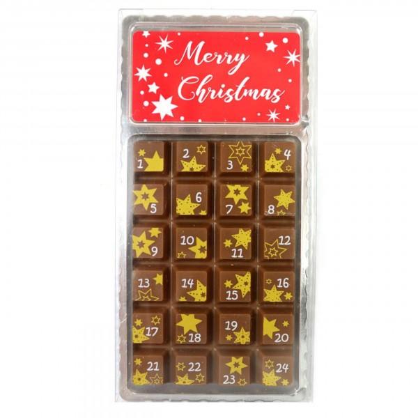 Weibler Schokoladen - Adventskalender, XS VM