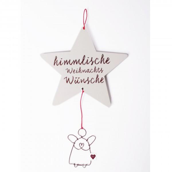 """Winter-Angelpost """"Himmlische Weihnachtswünsche"""""""