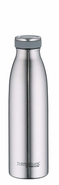 Thermos TC Bottle - doppelwandige Isolierflasche Edelstahl matt (0,5 l)