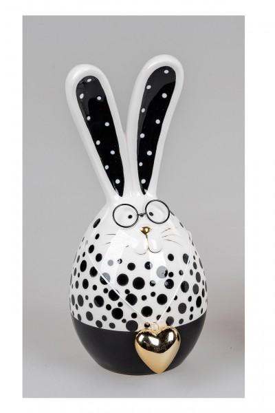 Formano - Hase mit Herz und Brille, 22cm