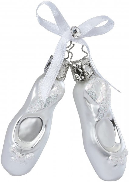 Inge-Glas Anhänger - Balettschuhe