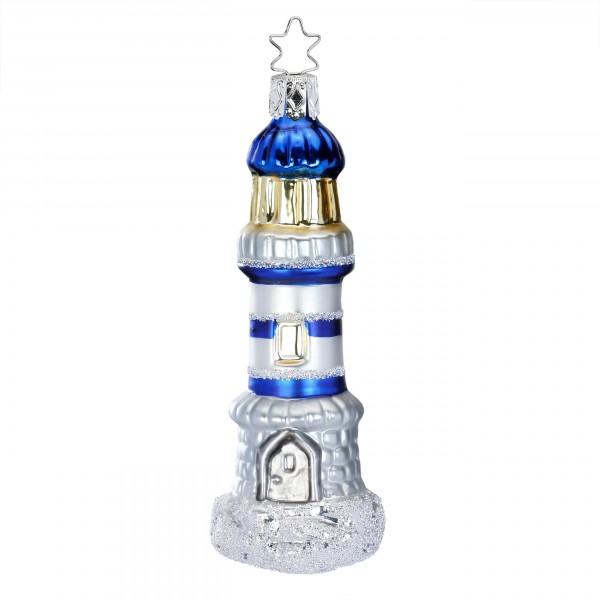Inge-Glas Anhänger Leuchtturm 12cm