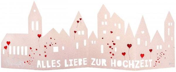 """Good old Friends - Silhouette """"Alles Liebe zur Hochzeit"""""""