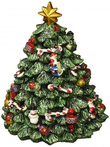 """Spieluhr - Weihnachtsbaum geschmückt - """"Oh Tannenbaum"""""""