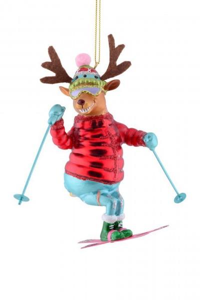 Gift Company - Hänger Skifahrer - Rentier