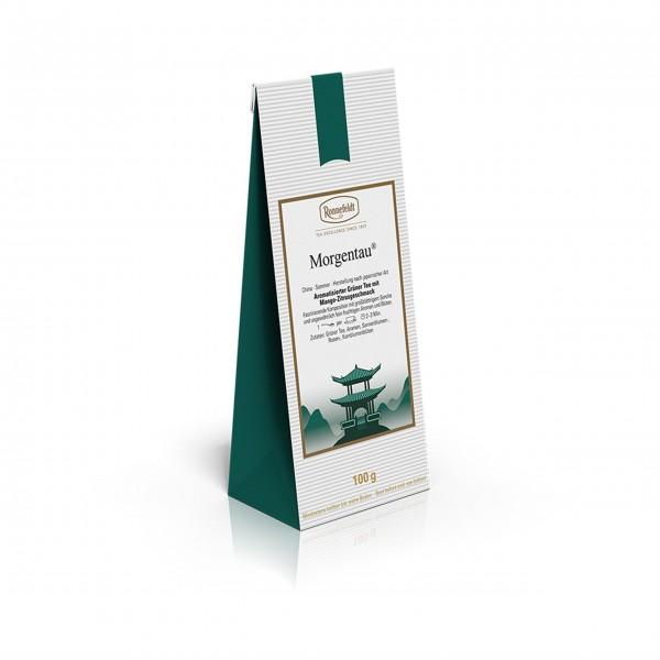 Ronnefeldt Morgentau, grüner Tee, 100g - offen