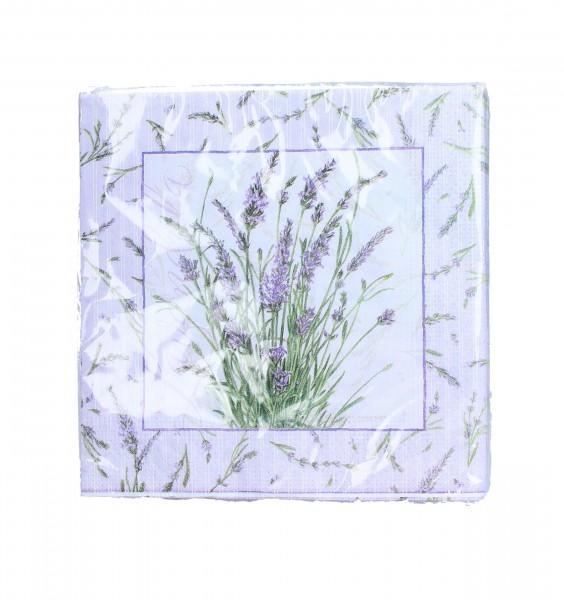 Gisela Graham - Serviette - Lavendelblüten