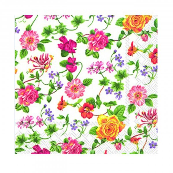 Serviette Flower Potpourri