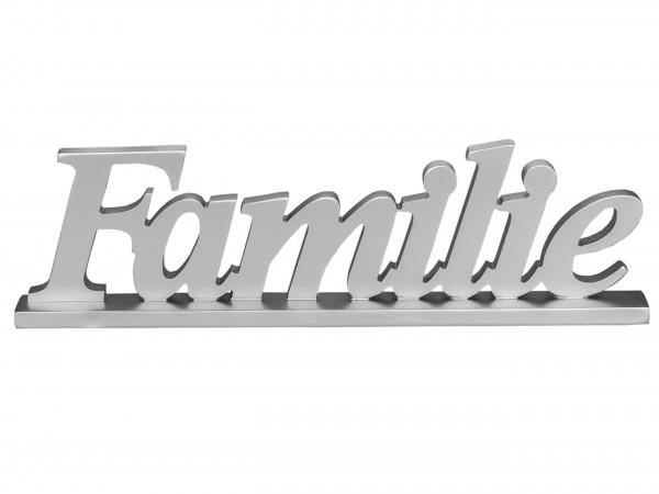 """Formano Schriftzug """"Familie"""" (silber)"""