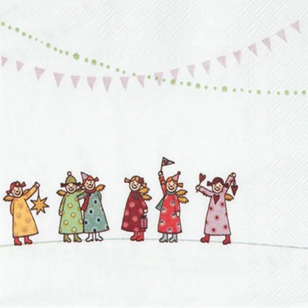 Himmlische Schwestern, Coktail Serviette