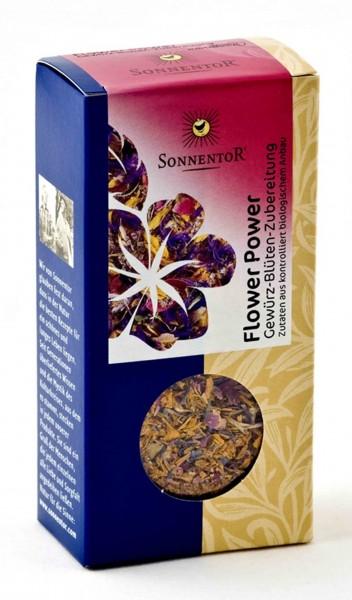 Sonnentor - Flower Power BIO-Gewürz-Blüten-Zucker-Zubereitung