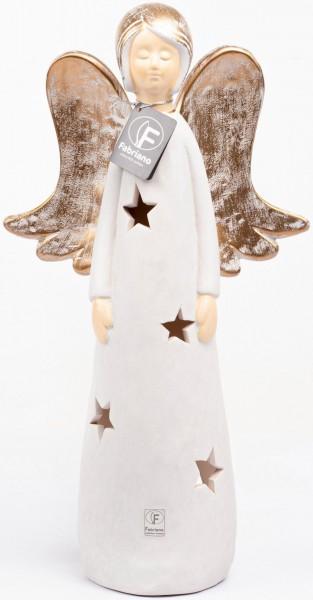 Fabriano Engel Fabienne - Kerzenleuchter 30cm