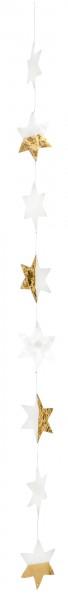 Räder - LIVING Capizkette - große Sterne gold