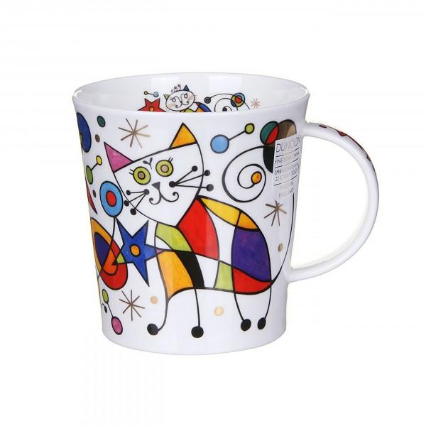 Becher Lomond Curious Cats - roter Stern