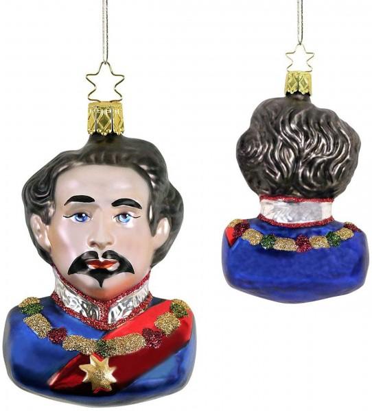 Inge-Glas Anhänger König Ludwig II von Bayern