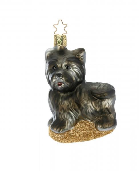 Inge-Glas Anhänger Scottish Terrier - Christbaumschmuck 10cm