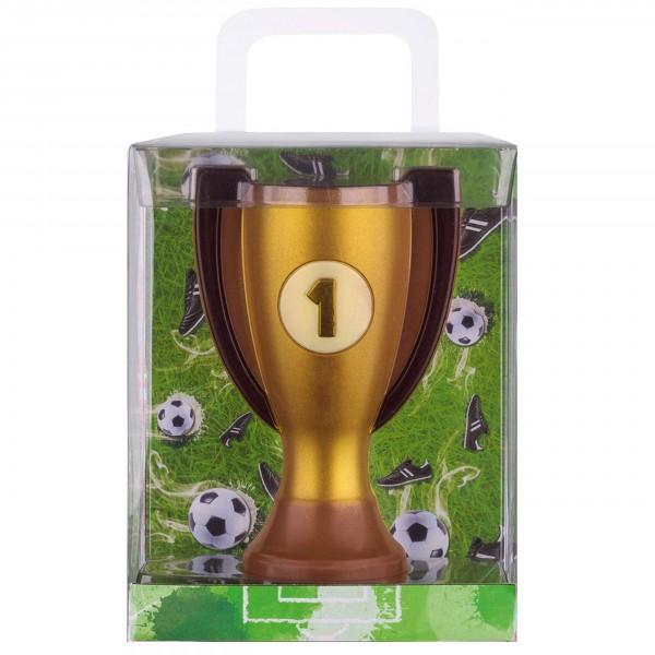 """Weibler - Schokoladen """"Pokal-Fußball"""" in der Geschenkverpackung"""