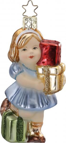 Inge-Glas Anhänger - Geschenk für Dich 11cm, Christbaumanhänger