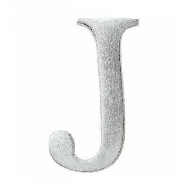 Aluminium Buchstabe J