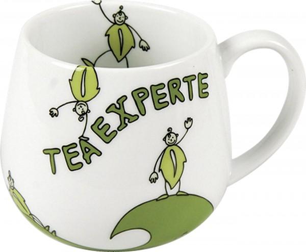 Kuschelbecher Tea Experte