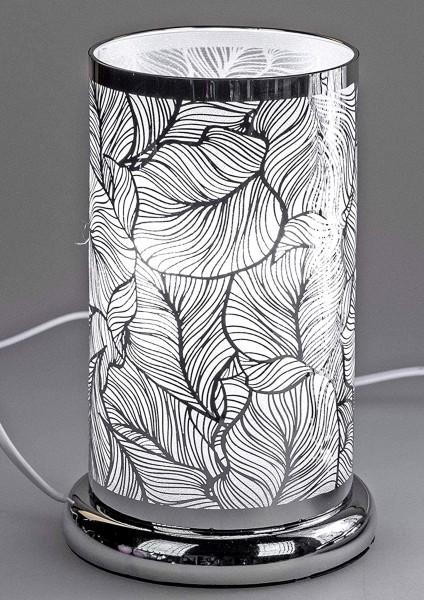 Formano - Touch-Funktion Lampe, Motiv Blätter, 24cm