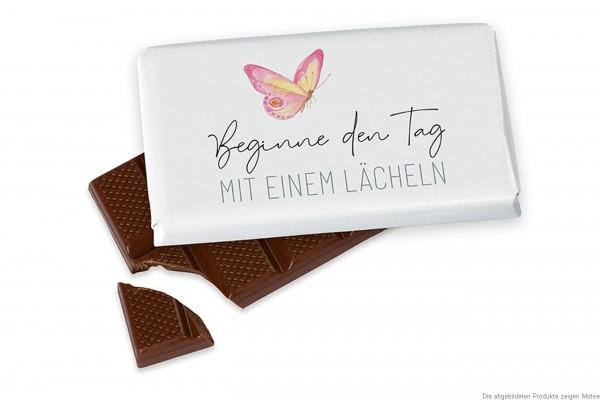 Schokolade für Dich :-), 40 g, Beginne den Tag mit einem Lächeln