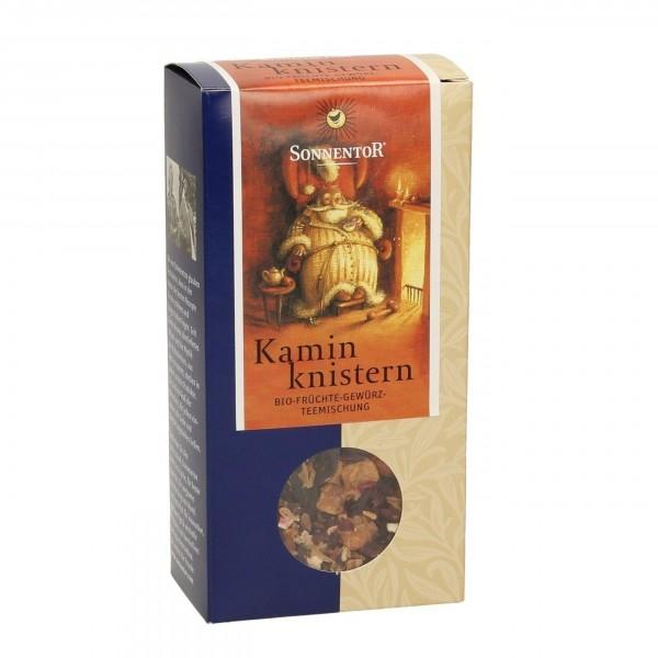 Kaminknistern-Tee