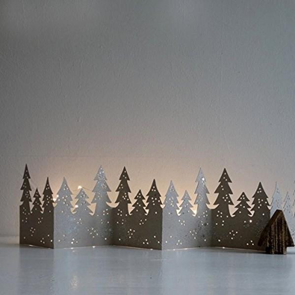 Good old Friends - Winter Tischgirlande Bäume