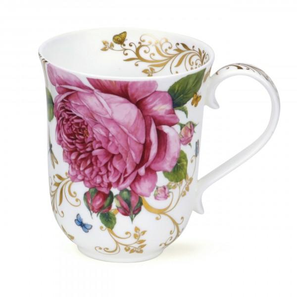 Dunoon Becher Braemar - Vintage Rose