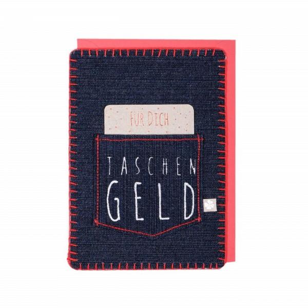 Good Old Friends Jeans-Karte Taschengeld