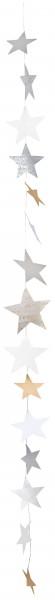 Räder Design - X-mas Paper Sternenkette Kette, 140 cm