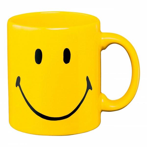 Waechtersbach Henkelbecher - Smiley yellow