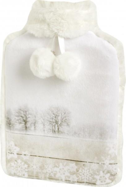 IHR - Wärmflasche - SILENT WINTER DAY linen