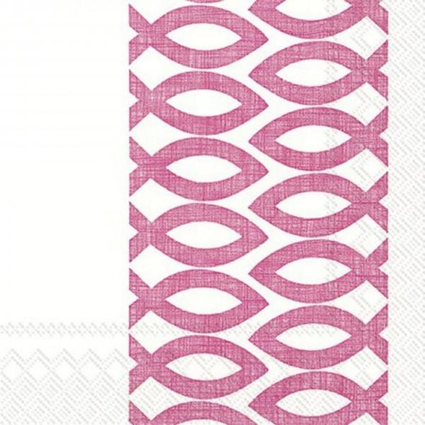 IHR-Serviette Kommunion/Konfirmation Ceremonial Day pink