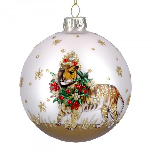 Gisela Graham - Weihnachtskugel/Ball - Tiger