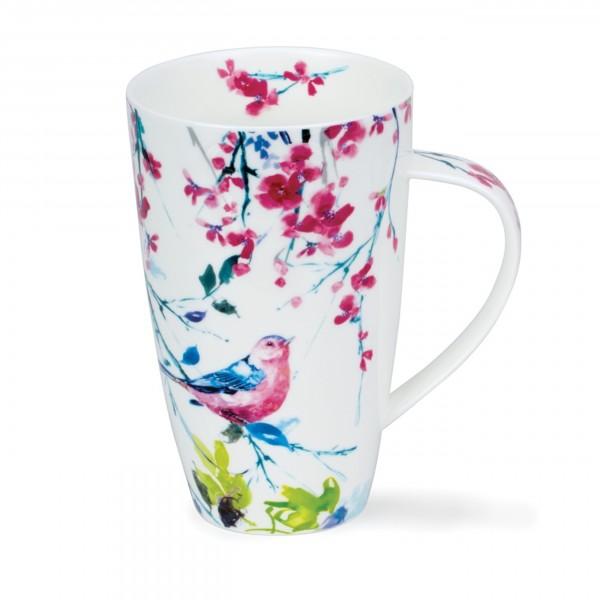 Dunoon Becher Henley - Birdsong pink