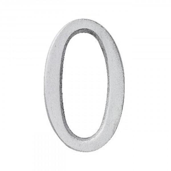 Aluminium Zahl 0