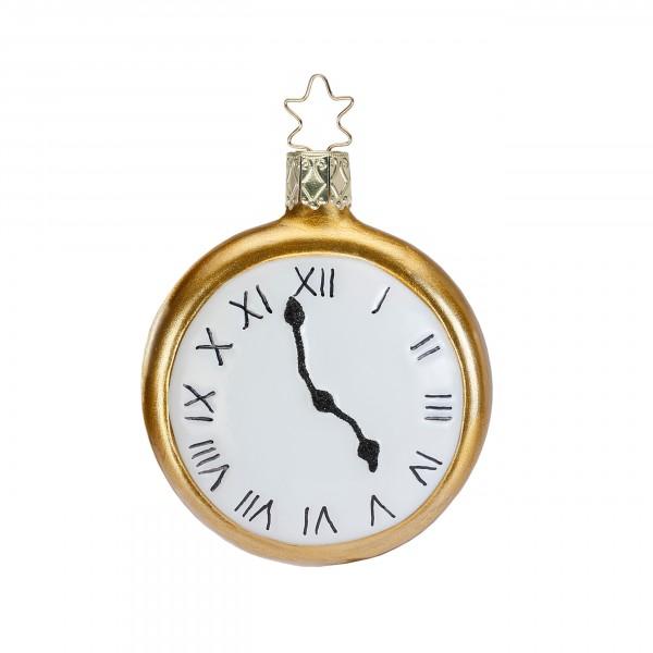 Inge-Glas Anhänger Teatime! - 5 o'clock, 7cm - Christbaumanhänger