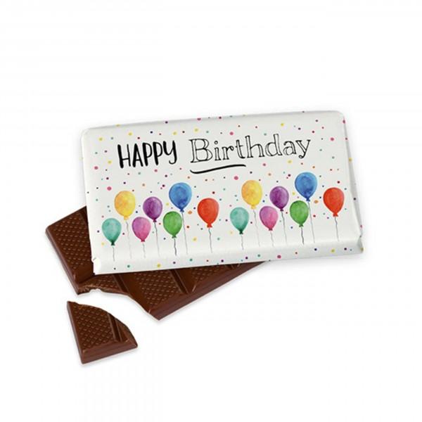 Schokolade für Dich :-) 40 g, Happy Birthday