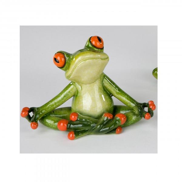 Formano - Frosch Yoga, im Lotossitz