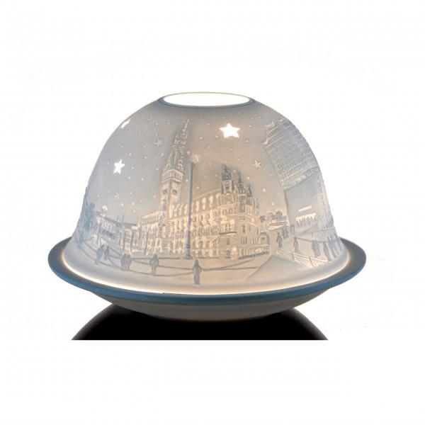 "Dome-Lights ""Hamburg City"", weiß"