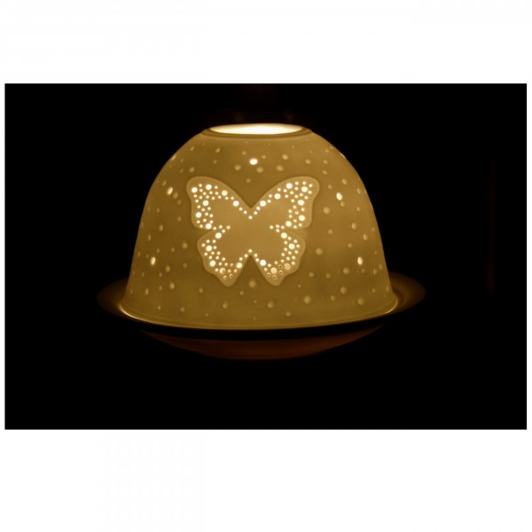 """Dome-Lights """"Schmetterling"""", weiß"""