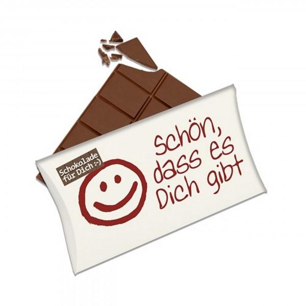 Schokolade für Dich :-), Schön, dass es dich gibt!