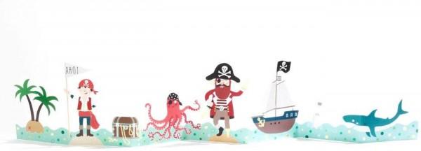Good old Friends - Kinder Tischgirlande - Piraten