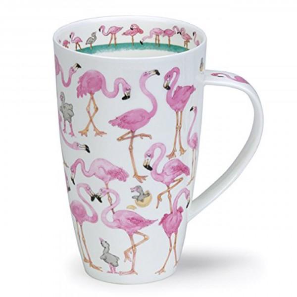 Dunoon Becher Henley - Flamboyance - Flamingo