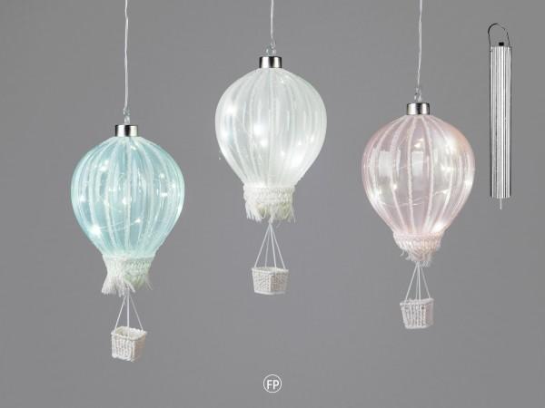 Formano Ballon mit LED, 16cm, grün